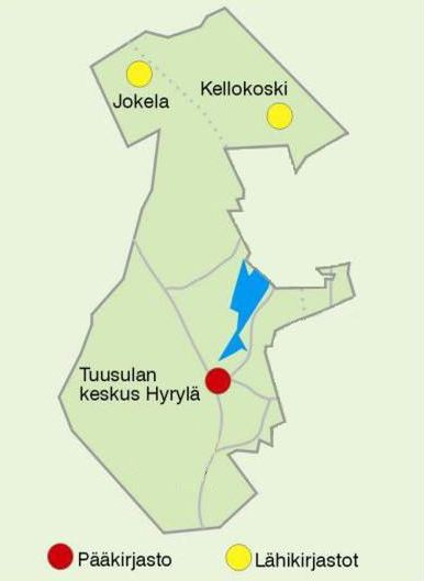 Tuusula libraries