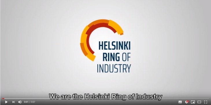 Helsinki Ring of Industry video