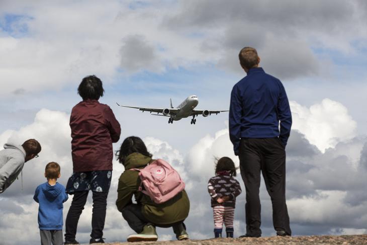 Lentokonespottausta